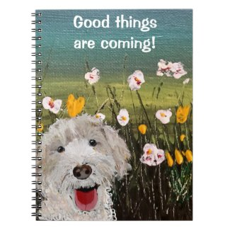 Good Things Are Coming Notebook