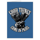 Good Things Come in Pairs Greeting Card