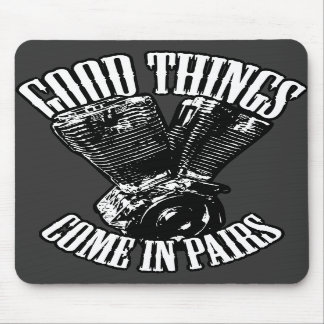 Good Things Come in Pairs Mouse Mat