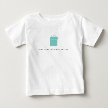 McTiffany Tiffany Aqua Good Things Come in Small Packages Baby Tee