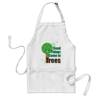Good Things Come in Trees Adult Apron