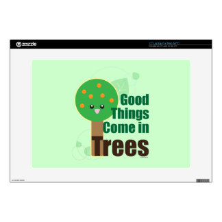 Good Things Come in Trees Laptop Skins