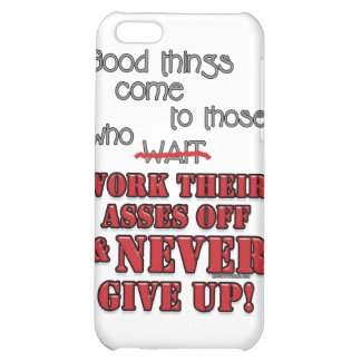 Good things come to those who...2 iPhone 5C case