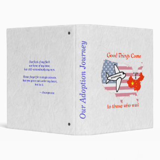 Good Things Come to Those Who Wait (China adopt) Binder