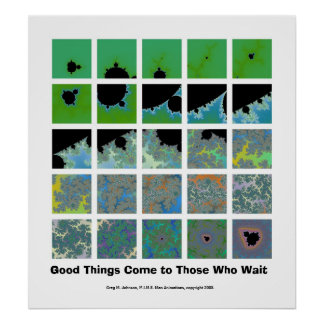 Good Things Come to Those Who Wait Poster