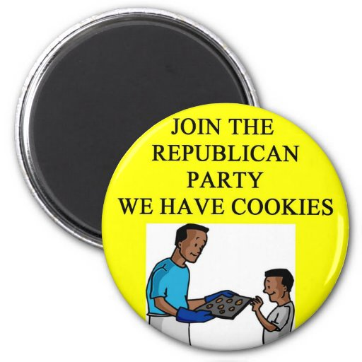 good things for republicans refrigerator magnet