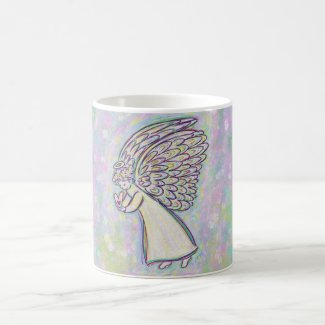 Good Things Guardian Angel Art Coffee Cups