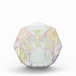 Good Things Guardian Angel Art Custom Paperweights Acrylic Award