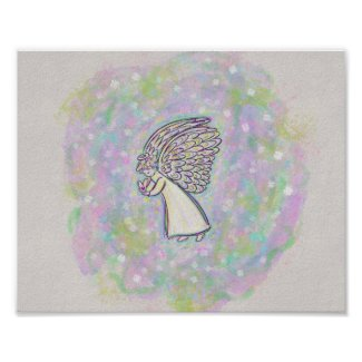 Good Things Guardian Angel Art Print Poster