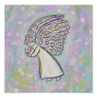 Good Things Guardian Angel Art Print Posters