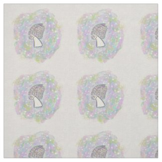 Good Things Guardian Angel Fabric Art Material