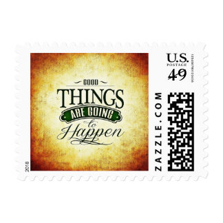 Good Things Happen Luck Inspiration Stamp