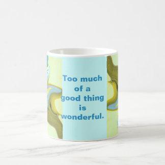 good things classic white coffee mug