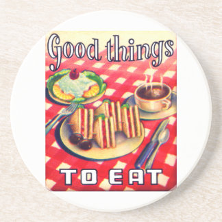 Good Things To Eat Coaster