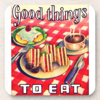Good Things To Eat Beverage Coaster