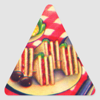 Good Things To Eat Triangle Sticker