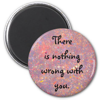 good thoughts 2 inch round magnet