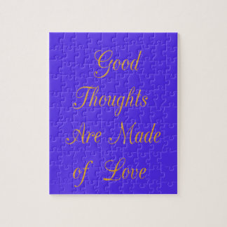 Good Thoughts are Made of Love Jigsaw Puzzle