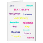 Good Thoughts Customizable Card