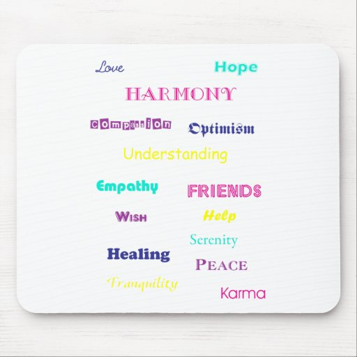 Good Thoughts Mousepad