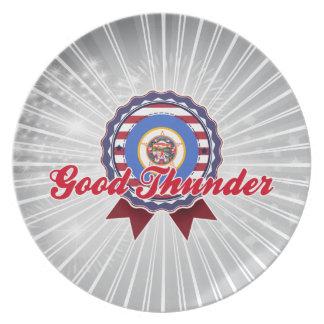 Good Thunder, MN Party Plates