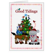Good Tidings Card