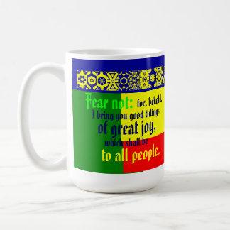 """""""Good Tidings"""" Coffee Mug"""