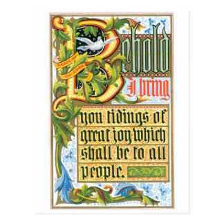 Good Tidings of Great Joy Custom Postcard