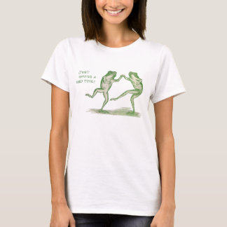 Good Time Frogs Dance Vintage T-Shirt