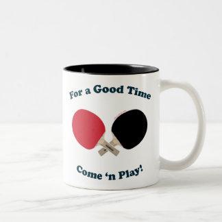 Good Time Ping Pong Mugs