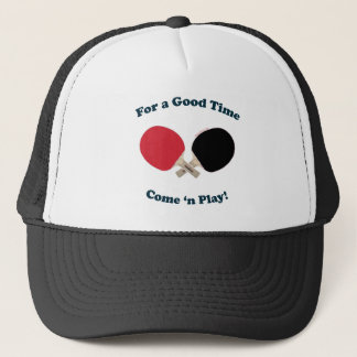 Good Time Ping Pong Trucker Hat