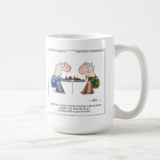 GOOD TIMES Cartoon Mug