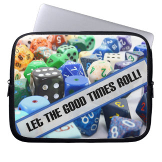 Good Times Dice Electronics Sleeve Computer Sleeves