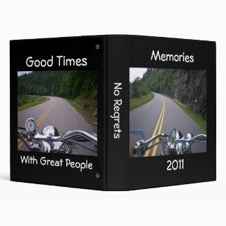Good Times Great People Motorcycle Memories Binder