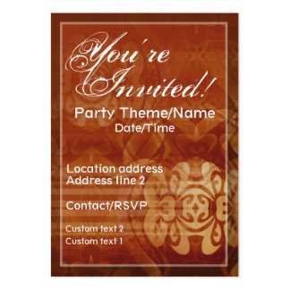 Good Times Invite Card Business Card Templates