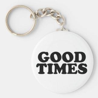 Good Times Keychain
