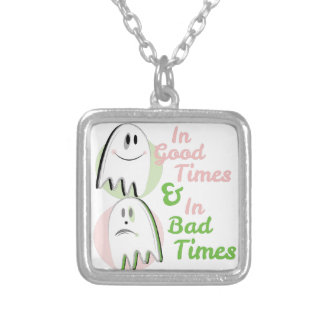 Good Times Silver Plated Necklace
