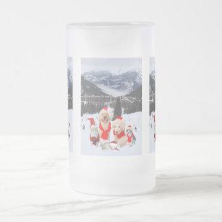 Good Times Together Frosted Glass Beer Mug