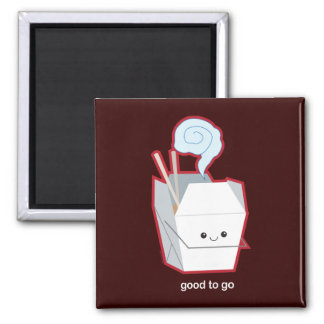 Good to Go 2 Inch Square Magnet