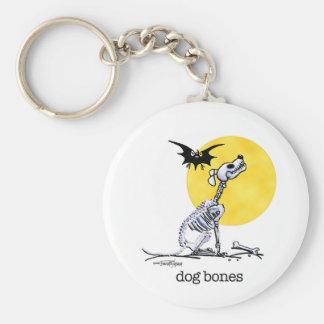 Good to Go - Dog Bones Basic Round Button Keychain