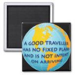 Good Traveller 2 Inch Square Magnet