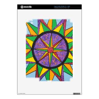 Good Vibe Mariner's Compass Mandala Skin For iPad 2