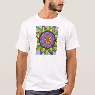 Good Vibe Mariner's Compass Mandala T-Shirt