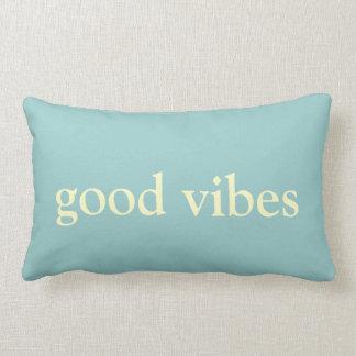 good vibes ~ follow your dreams lumbar pillow
