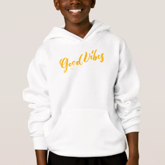Good Vibes - Hand Lettering Design Hoodie