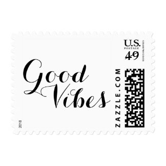 Good Vibes Happy Uplifting Inspirational New Age Postage