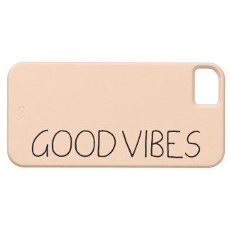 Good Vibes New Age Uplifting Inspirational Design iPhone SE/5/5s Case