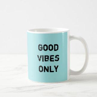 Good Vibes Only Classic White Coffee Mug