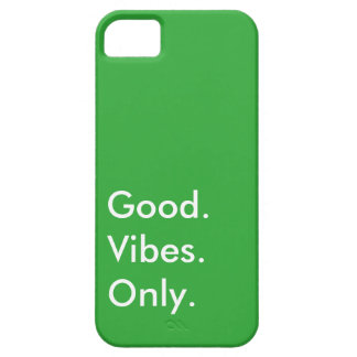 Good. Vibes. Only. Customizable (More In My Shop) iPhone SE/5/5s Case