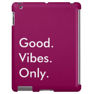 Good. Vibes. Only. Customizable White And Purple